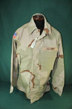 売切れ 米軍放出品 パッチ付き 3C リップストップジャケット S-S