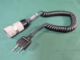 売切れ 無線機 ヘッドセットコードパーツ 良品