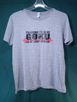 Training To Beat Goku プリントTシャツ M 中古良品