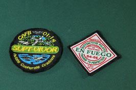 売切れ EN FUEGO & CAFB パッチ2枚セット