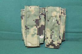 特殊部隊使用 EAGLE社製 AOR2迷彩 ダブルグレネードポーチ