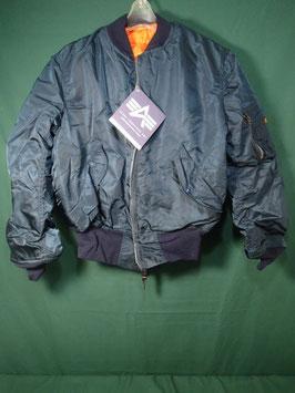売切れ ALPHA MA-1 フライトジャケット ネイビー