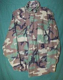 M-65 カモフラジャケット 防寒用 S-R 中古