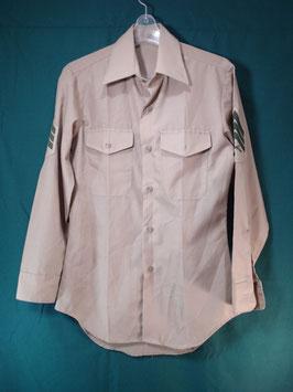 長袖 カーキシャツ 14 1/2×32 中古良品