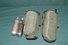 特殊部隊 VBSS TFSS-5326 PECI FLOTATION OD ライフプリザーバー 左右セット 中古 ボンベ2個付