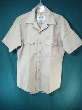 売切れ 半袖 カーキシャツ M 中古品