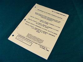 沖縄米軍実物 車両用 無線機取り付けマニュアル