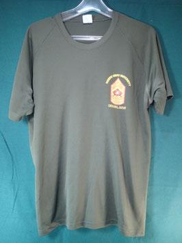 売切れ 難あり品 Okinawa,JapanプリントTシャツ L 中古品