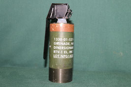 Mk13 HAND GRENADE  フラッシュグレネード レバー ピン付き 良品 使用済み
