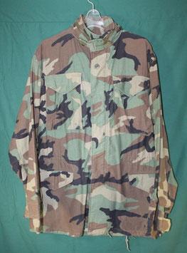 M-65 ウッドランドカモフィールドジャケット L-R