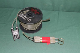 MK154 MOD 0 DETONATOR ケーブル  起爆装置用  ヒューズ2個付き 中古 使用済み