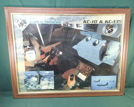 空軍  KC-10 & kc-135 輸送機 額縁