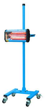 Mobiler Infrarottrockner mit einer Kassette