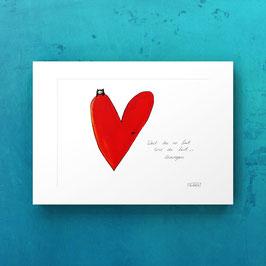 Herz print