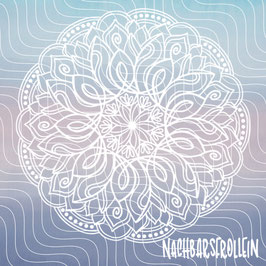 Plotterdatei 'Rhinestoneflower Mandala'