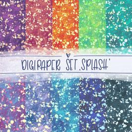 Digipaper Set 'Splash'