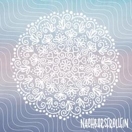 Plotterdatei 'Gardenhearts Mandala'