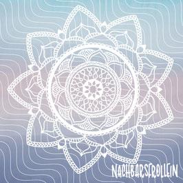 Plotterdatei 'Lotus Mandala'