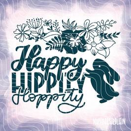 Plotterdatei 'Happy Hippity Hoppity''