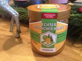 ★ Nur am Wagen abholbar: Dr. Riechert's Lister Honig mit Heidetracht, 500 Gramm im Glas – direkt am Wagen, kein Versand.