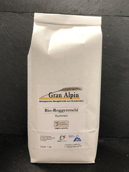 Gran Alpin Bio Roggenmehl