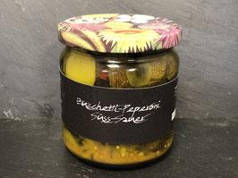 Zucchetti -Peperoni Süss-Sauer