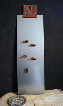 Remember Plate Tall (incusief 4 leren magneetjes)