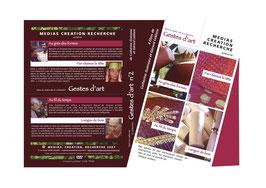 DVD GESTES D'ART N°1 et N°2