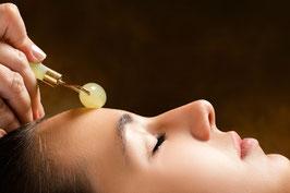 Massage aux rouleaux de Jade +soin complet en option