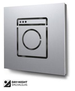 Laundry beleuchtet in Aluminium, Art. PT016L0010
