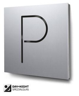 Parkplatz beleuchtet in Aluminium, Art. PT014L0010