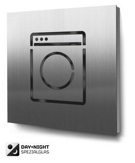 Laundry beleuchtet in Edelstahl, Art. PT016L0030