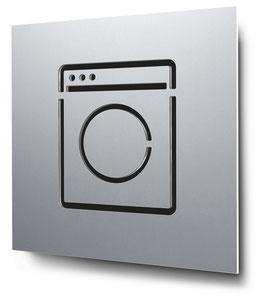 Laundry konturgeschnitten in Aluminium, Art. PT016CC0010