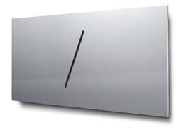 Materialvariante Aluminium für konturgeschnittene Doppelhaus-Hausnummern