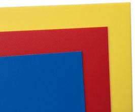 Farbkarten zur Hinterlegung der Konturschnitte