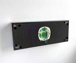 Aufputzadapter für beleuchtete Hausnummern mit vier Stellen