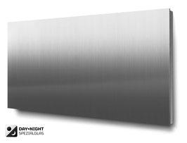 Materialvariante Edelstahl für beleuchtete 4-stellige Hausnummern