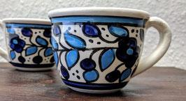 Espressotassen Blau 2er Set