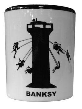 Banksy Becher Wachturm-Schaukel in Gaza