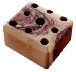 Stiftehalter Olivenholz-Block