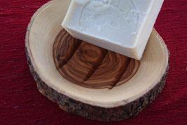 Original Borken-Seifenschalen aus Olivenholz