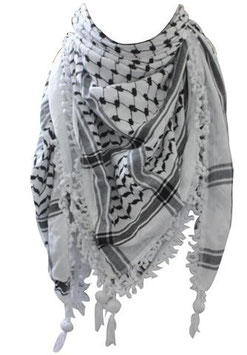 Pali-Tuch Schwarz-Weiß
