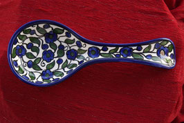 Handgemachte Löffelablage aus Keramik
