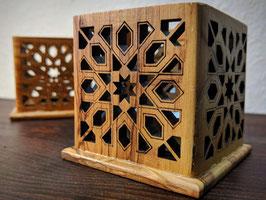 Kerzenhalter Arabisk aus Olivenholz
