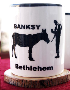 Banksy Becher Donkey Documents