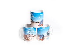 Tasse mit Fotomotiv Usedom