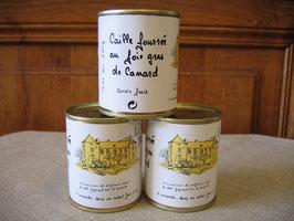 Caille fourrée au foie gras, 130g