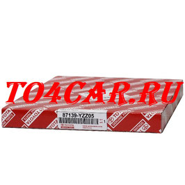 Оригинальный фильтр салона Тойота Прадо 120 4.0 249 лс 2008-2009 (TOYOTA PRADO 120) 87139YZZ05 / 87139YZZ19