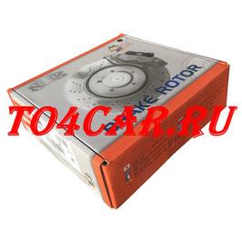 Передние тормозные диски (2шт) NIBK (ЯПОНИЯ) Тойота Прадо 120 4.0 249 лс 2002-2009 (TOYOTA PRADO 120) RN1220 ПРОВЕРКА ПО VIN