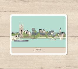 Carte postales Angers